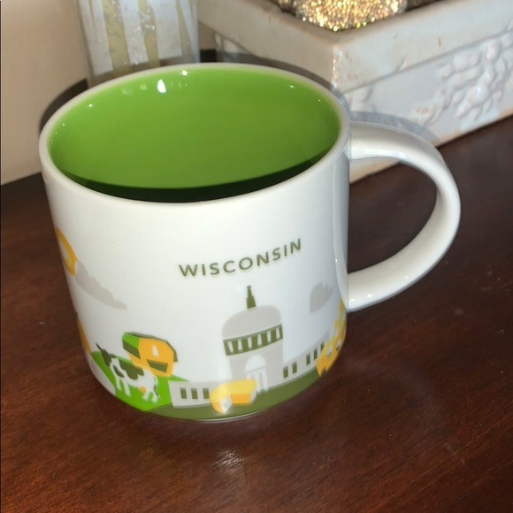 "Starbucks Wisconsin ""You Are Here"" Collection Mug"